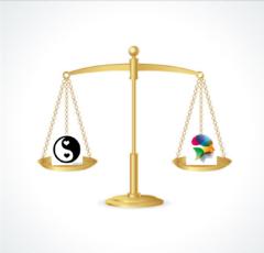 Balance, yin yang, maskuline feminine shamansk astrologi